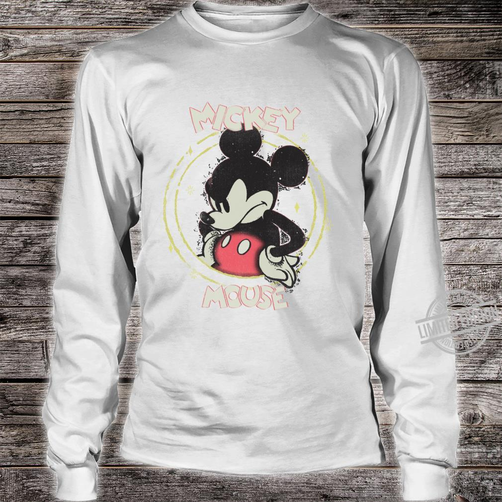 Disney Mickey And Friends Mickey Mouse Angry Shirt long sleeved