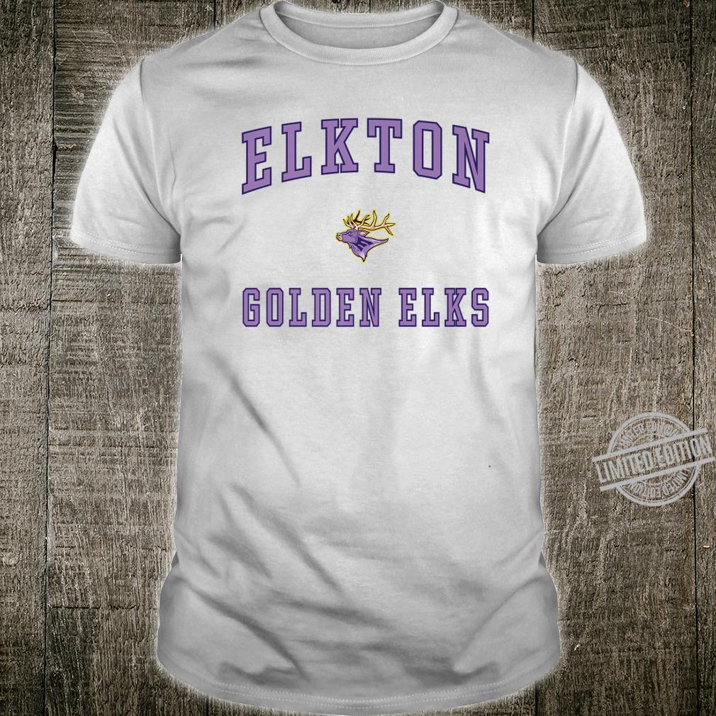 Elkton High School Golden Elks Shirt