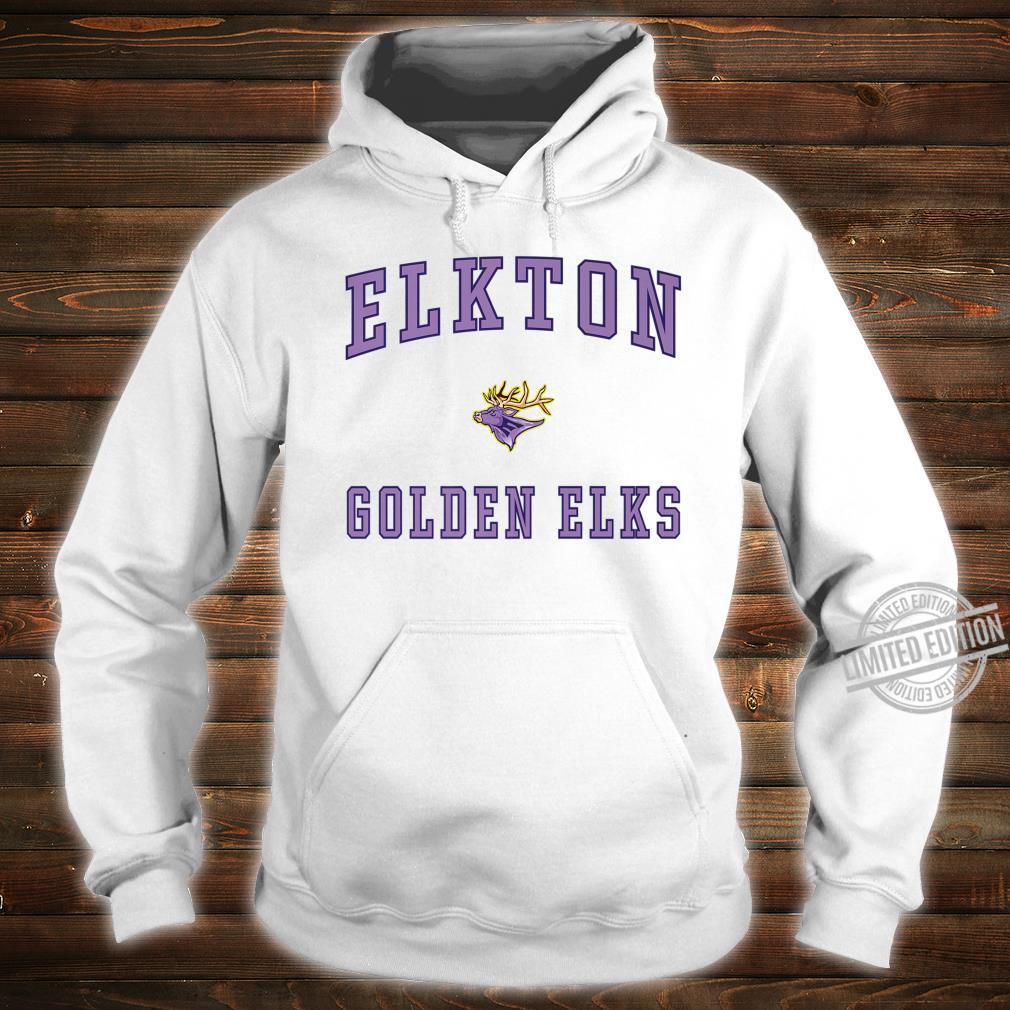 Elkton High School Golden Elks Shirt hoodie