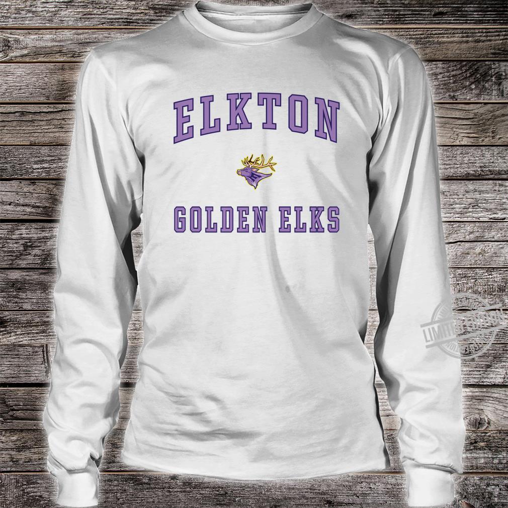 Elkton High School Golden Elks Shirt long sleeved