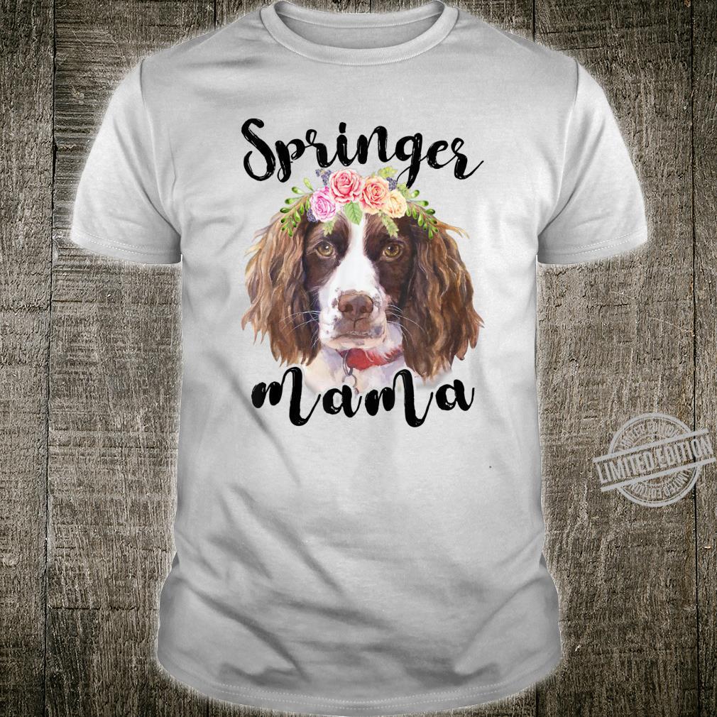 EnglishSpringerSpaniel Mama Mom Grandma Shirt