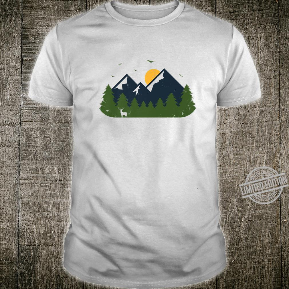 Forest & Mountain Nature Outdoor, No Quotes Shirt