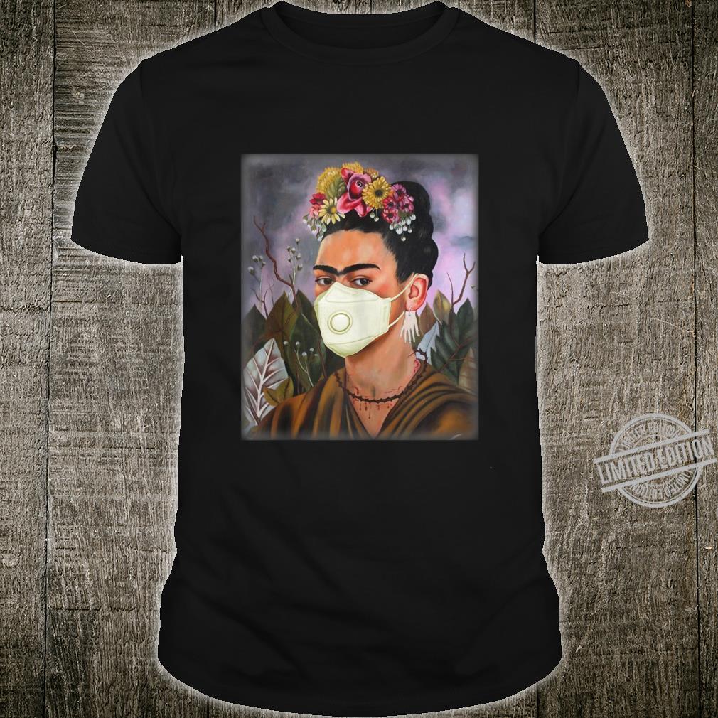 Frida Mask Kahlo Art Girl Shirt