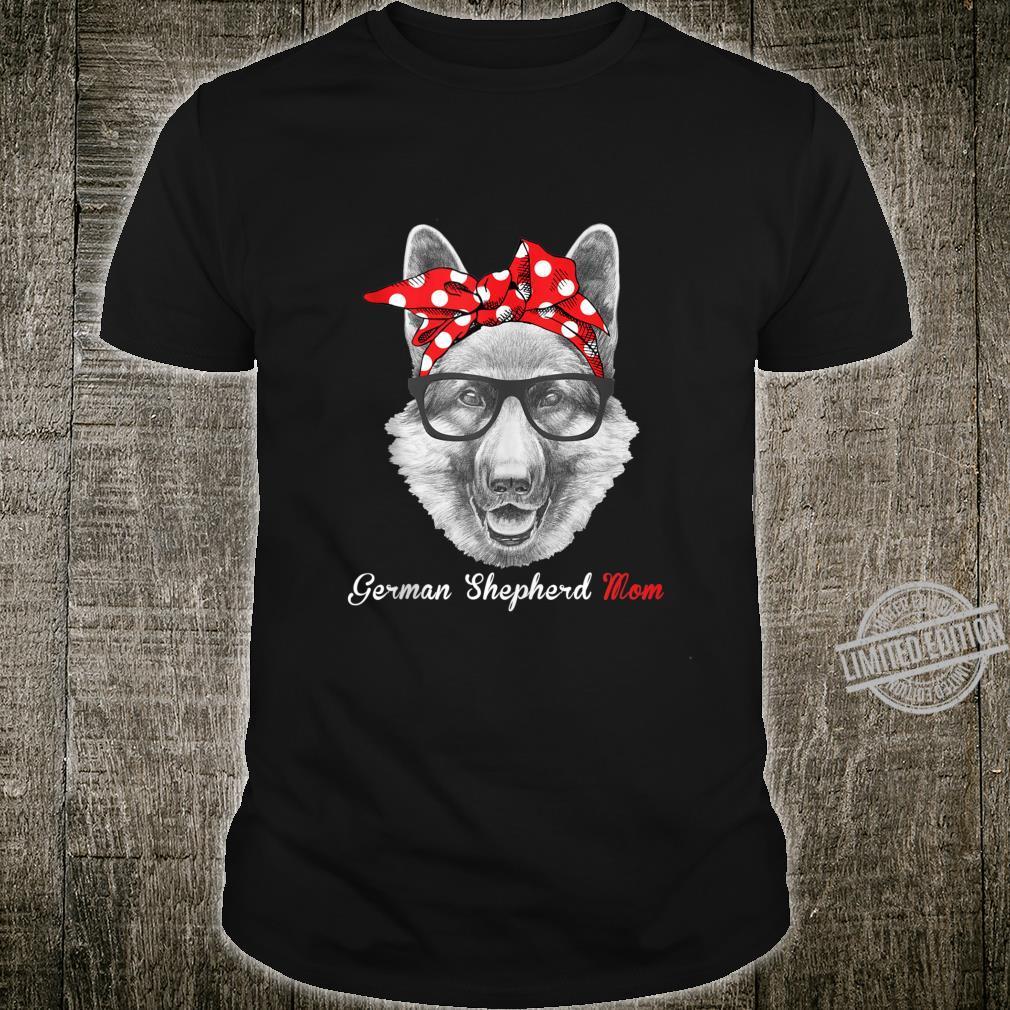 Funny German Shepherd mom for Dogss Shirt