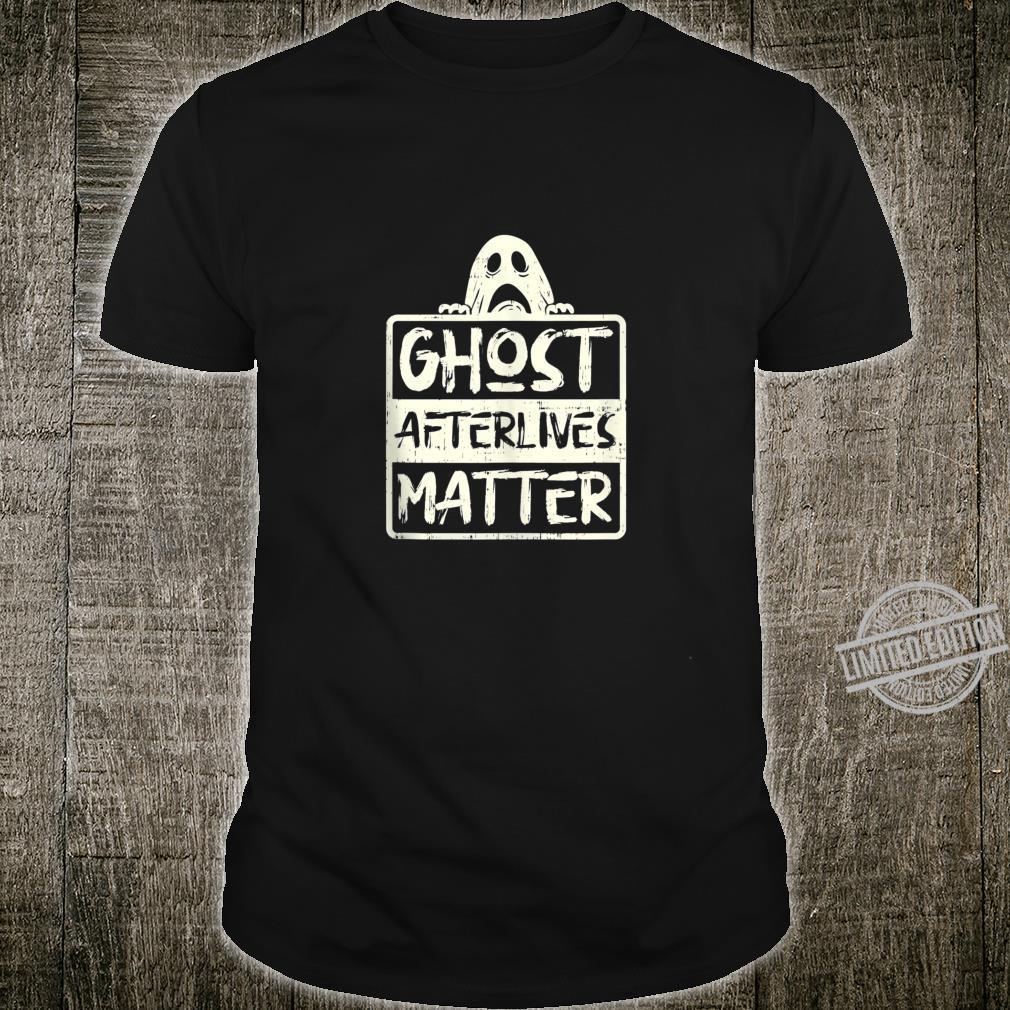 Funny Ghost Hunter Afterlives Adventure Investigators Shirt
