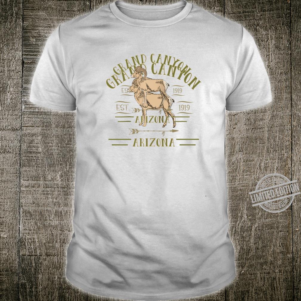 GRAND CANYON NATIONAL PARK ARIZONA NP Bighorn souvenir Shirt