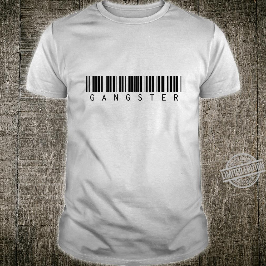 Gangster Barcode Shirt