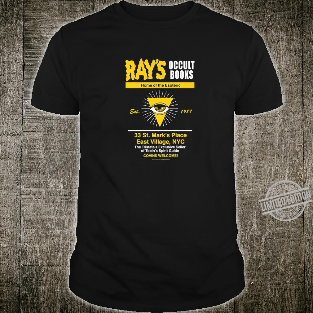 Ghostbusters Rays Occult Books Shirt