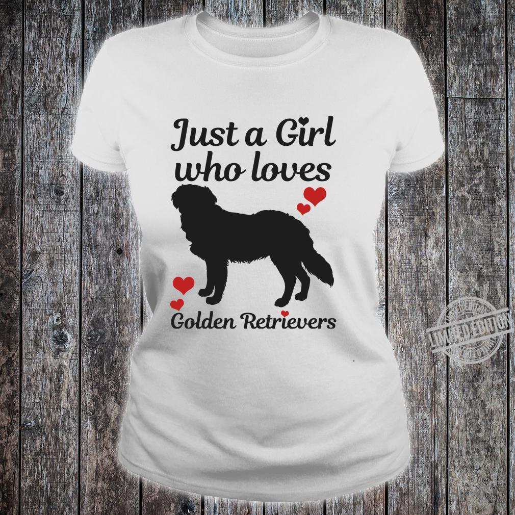 Golden Retriever Hund Spruch Lustig Geschenk Langarmshirt Shirt ladies tee