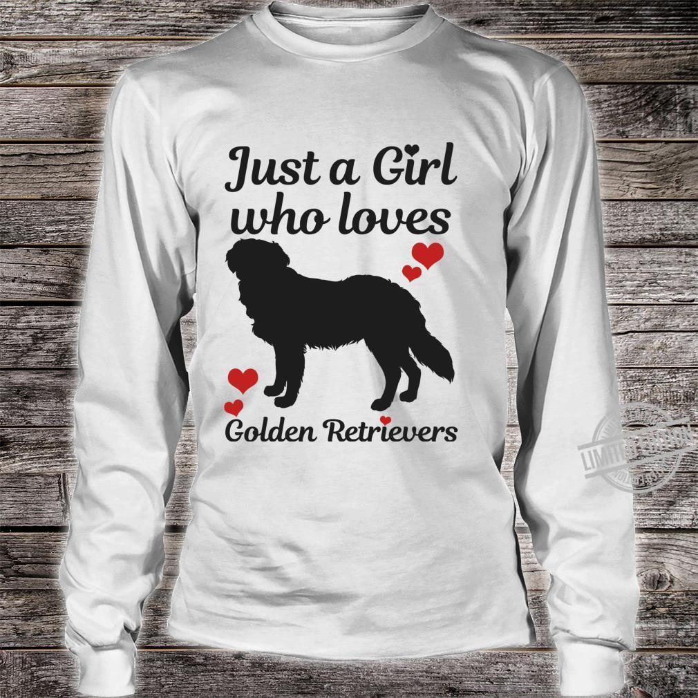 Golden Retriever Hund Spruch Lustig Geschenk Langarmshirt Shirt long sleeved