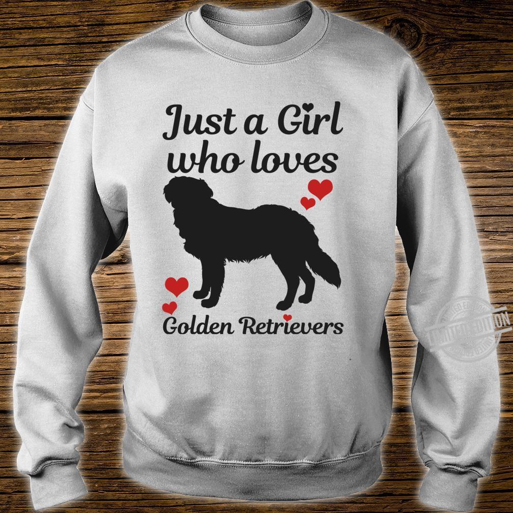 Golden Retriever Hund Spruch Lustig Geschenk Langarmshirt Shirt sweater
