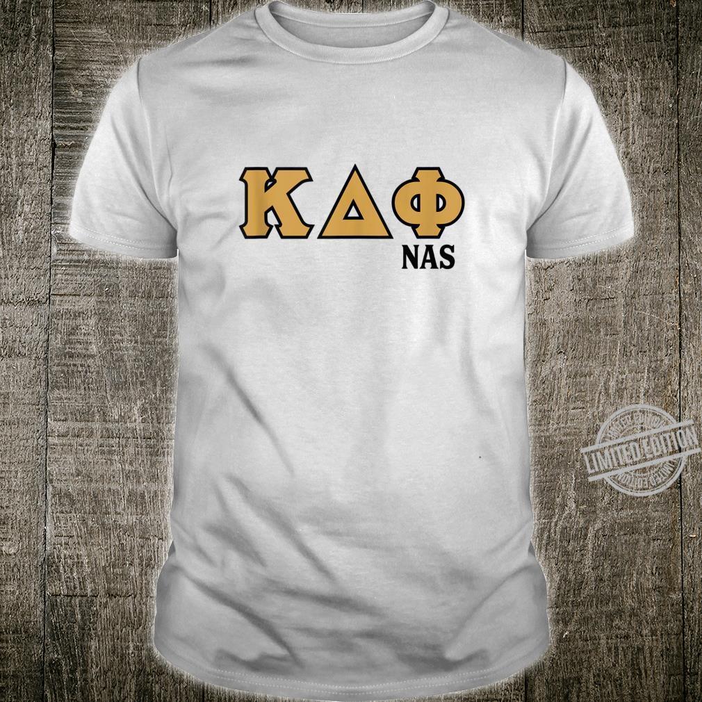 Greek letters Kappa, Delta, and Phi NAS Shirt