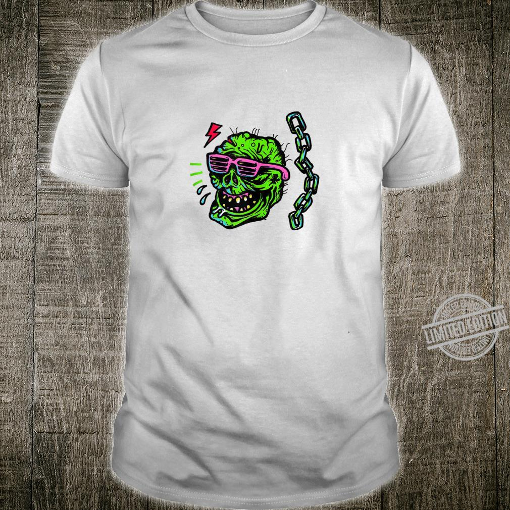 Grunge Punk Goth Clothing Halloween Undead Cool Zombie Shirt