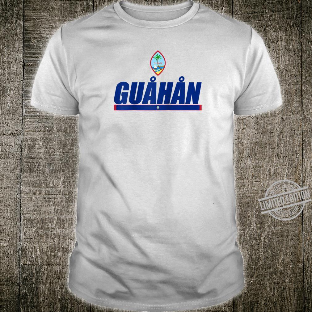 Guahan Chamorro Pride Tees Guamanian Flag Of Guam Shirt
