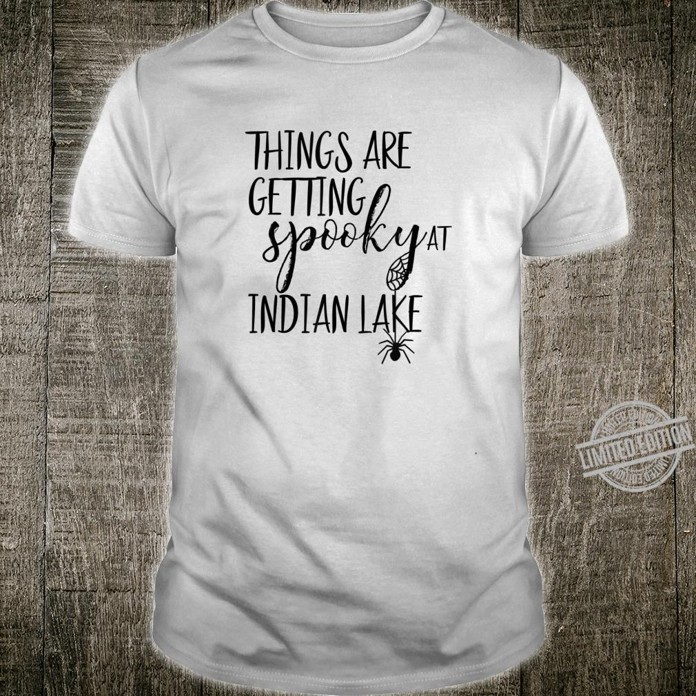Indian Lake, Lakeview Ohio, Spooky Halloween Shirt