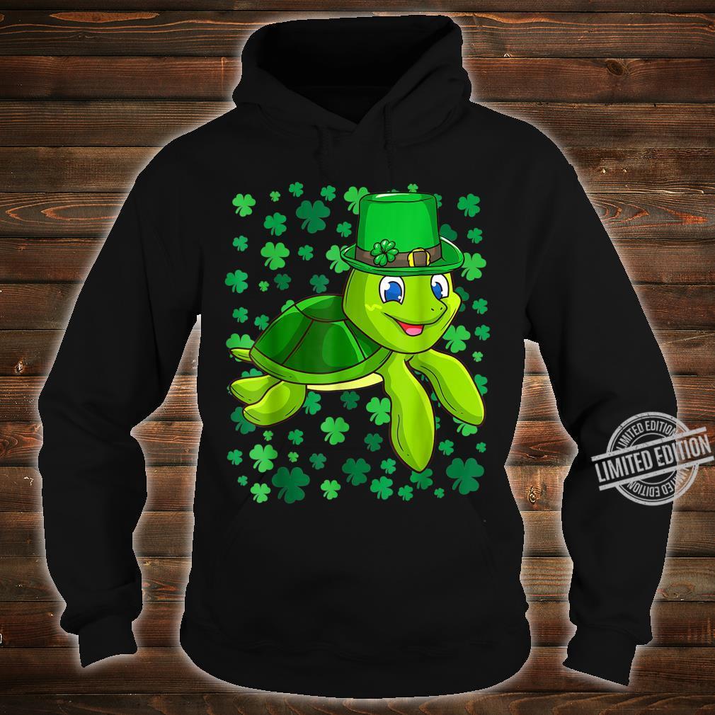 Irish Turtle Leprechaun Clovers St. Patrick's Day Shamrock Shirt hoodie