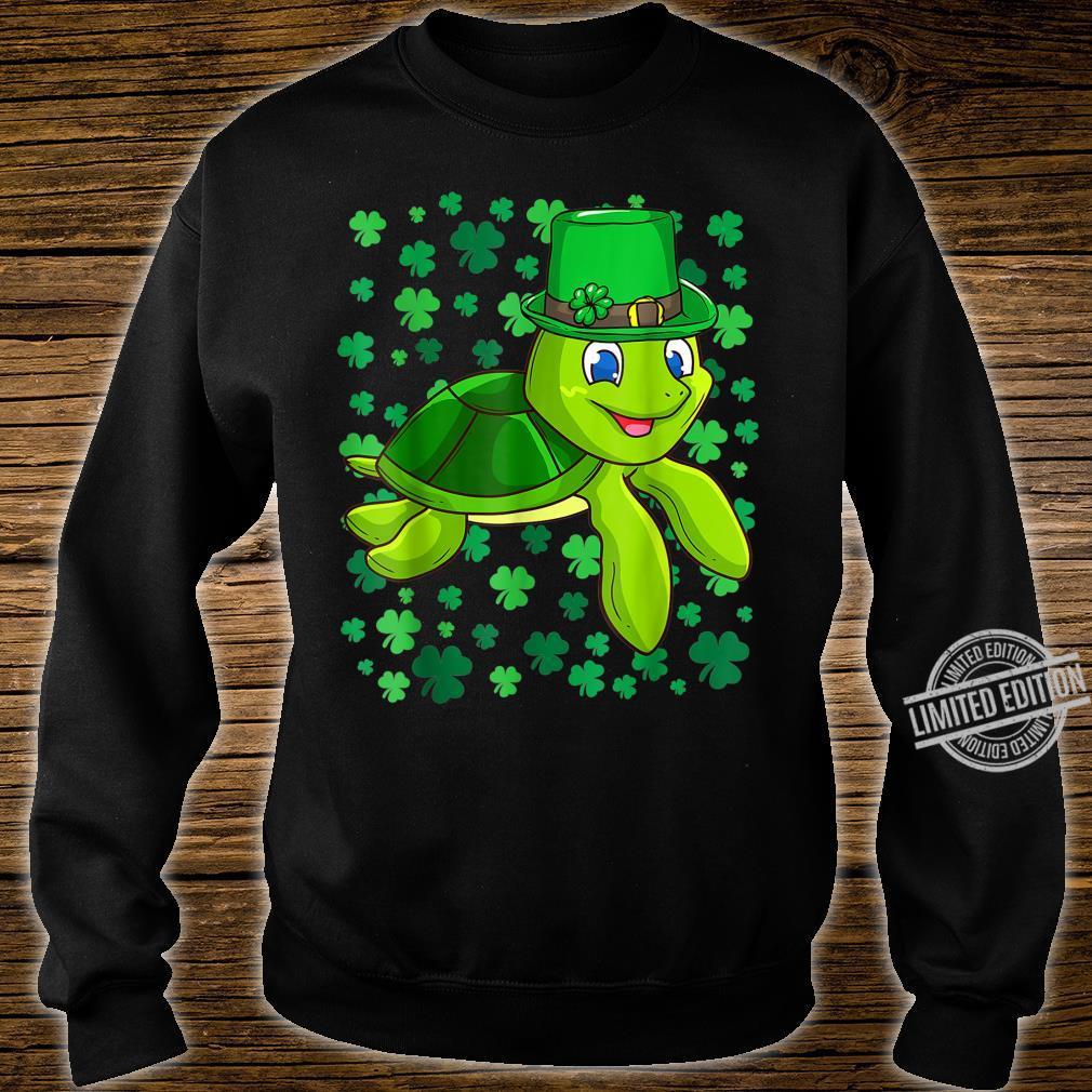 Irish Turtle Leprechaun Clovers St. Patrick's Day Shamrock Shirt sweater