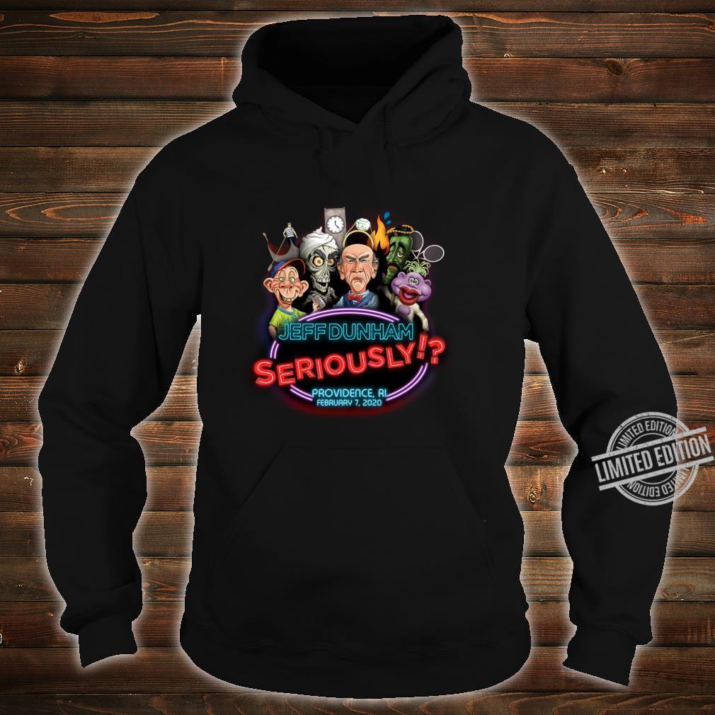 Jeff Dunham Providence, RI Shirt hoodie