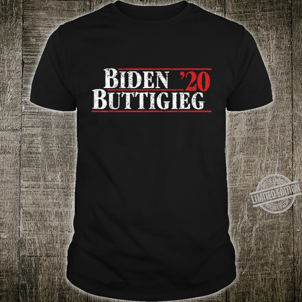 Joe Biden and Pete Buttigieg on the one ticket Shirt