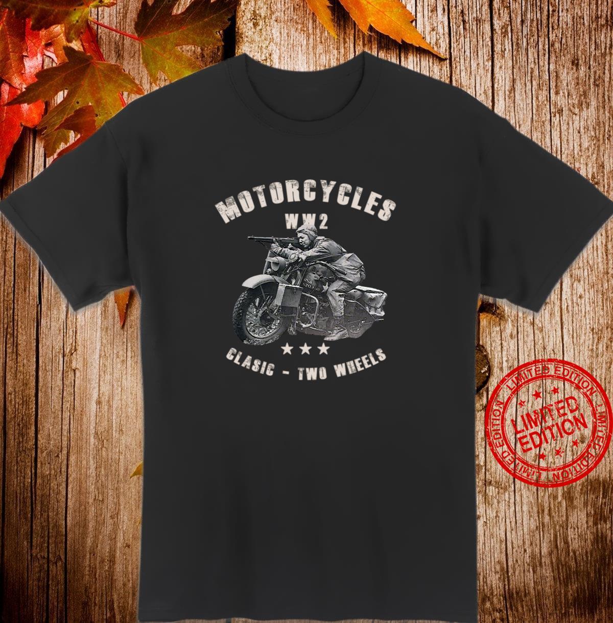 Klassische RetroMotorräder aus dem 2. Weltkrieg Shirt