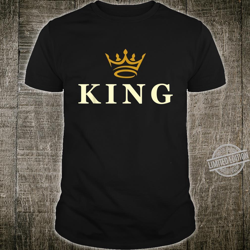Men's Boys World King Design, King Style Shirt