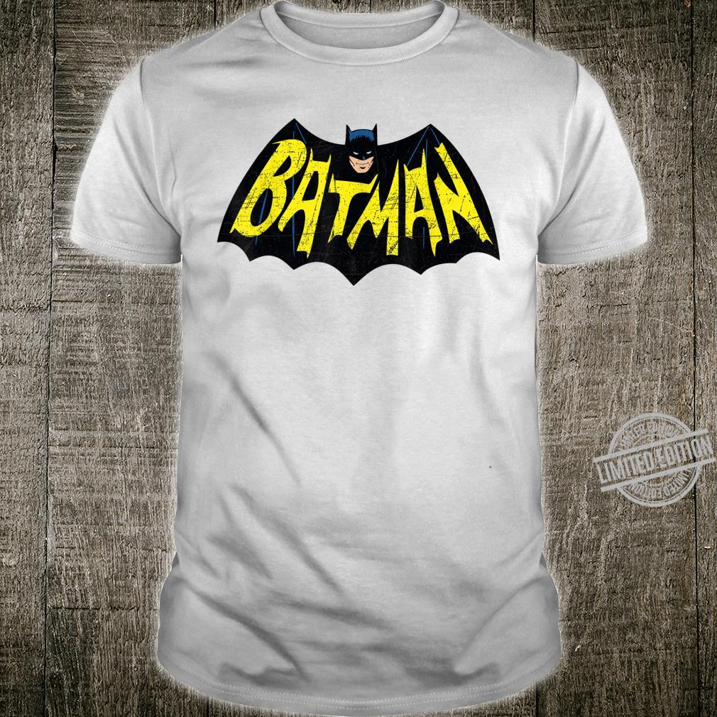 Mens DC Batman + Logo 66 Shirt