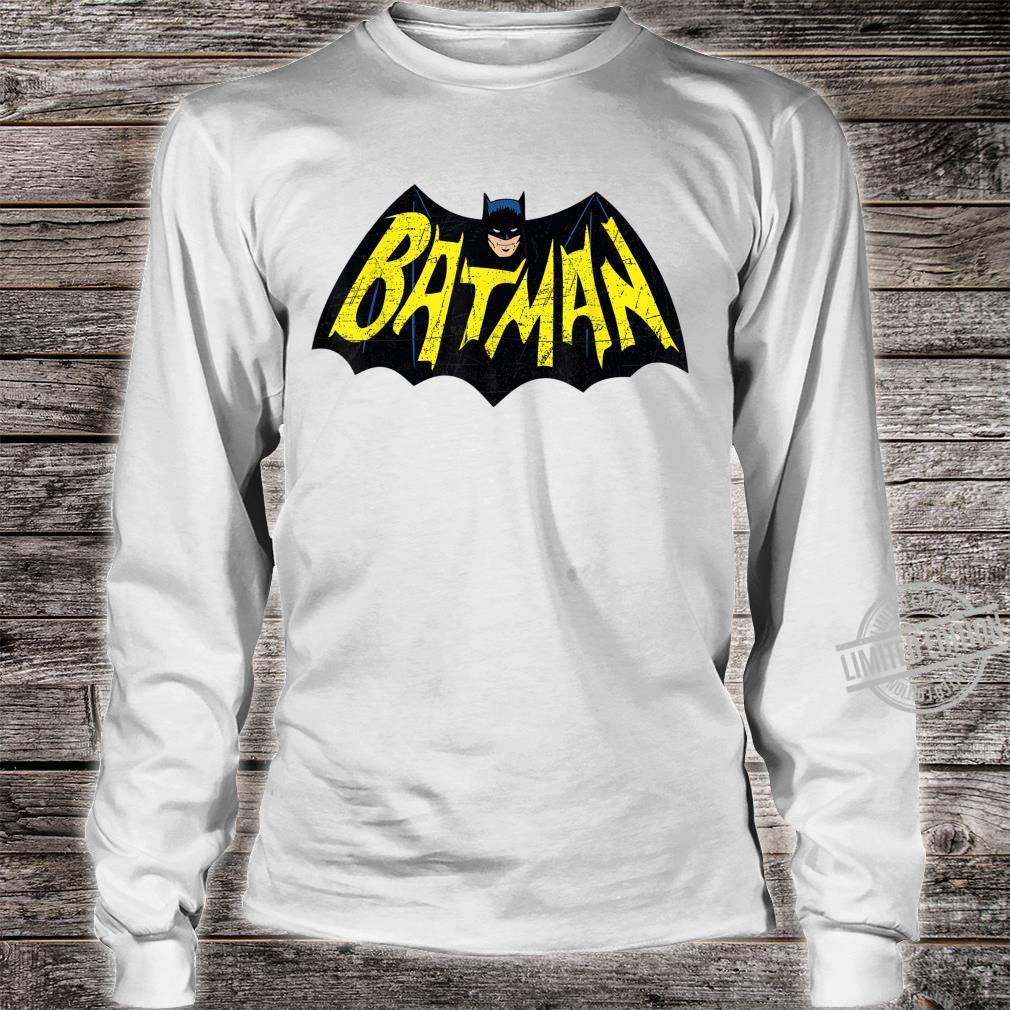 Mens DC Batman + Logo 66 Shirt long sleeved