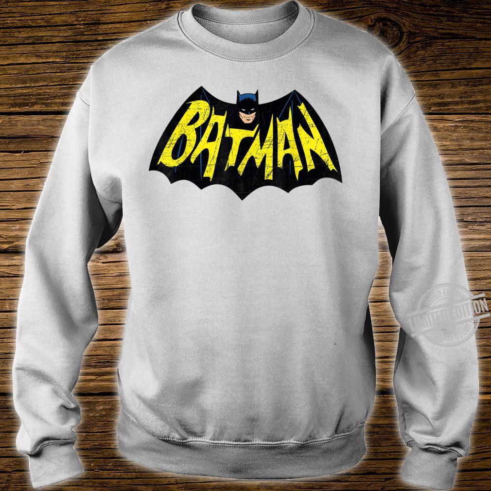 Mens DC Batman + Logo 66 Shirt sweater