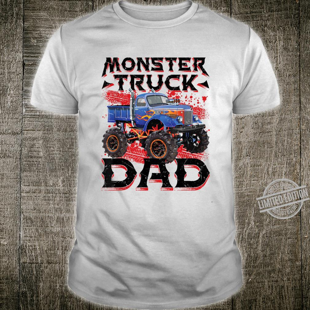 Mens Monster Truck Dad Party Jam Rally Monster Truck Daddy Shirt