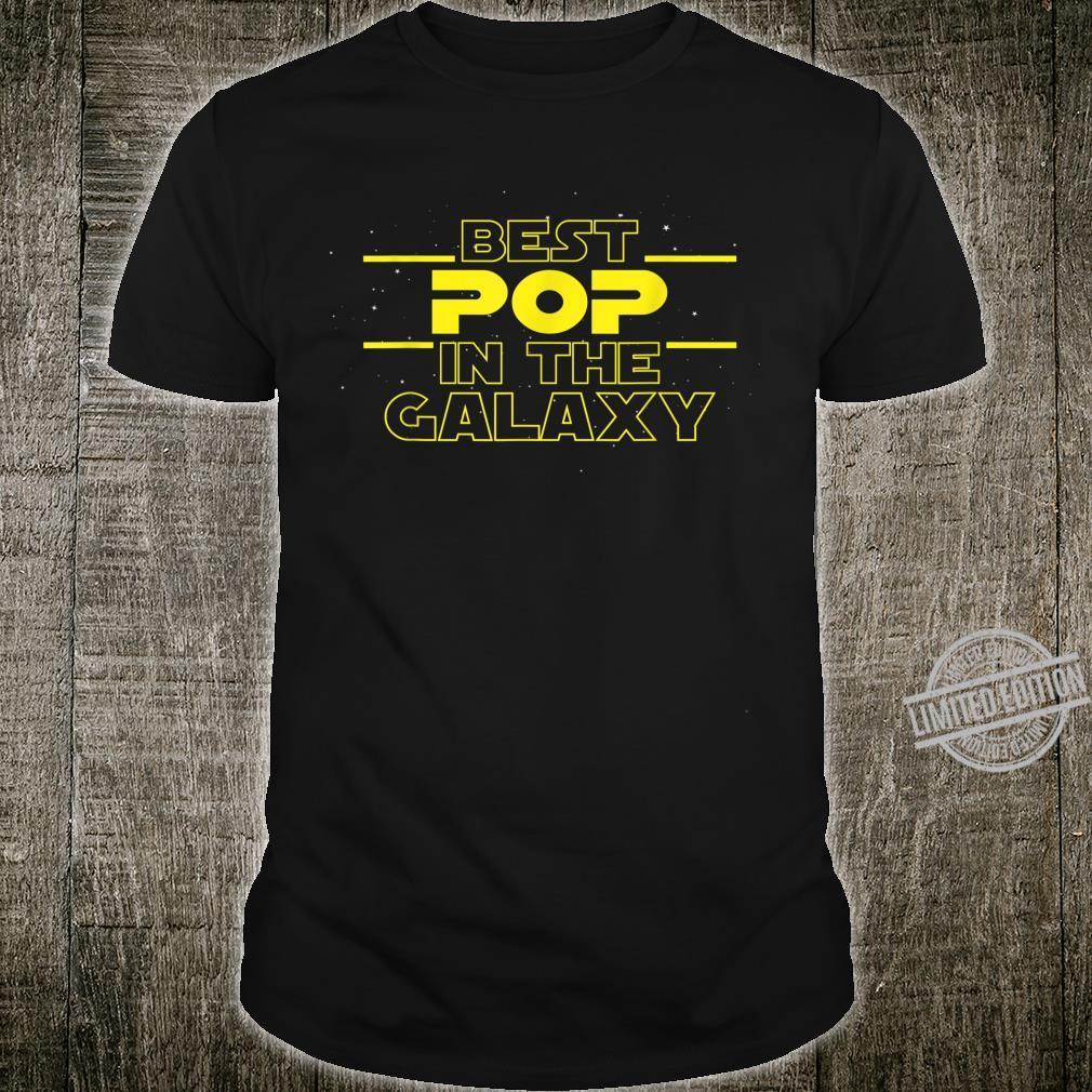 Mens Pop Best Pop In The Galaxy Best Idea for PopPop Shirt