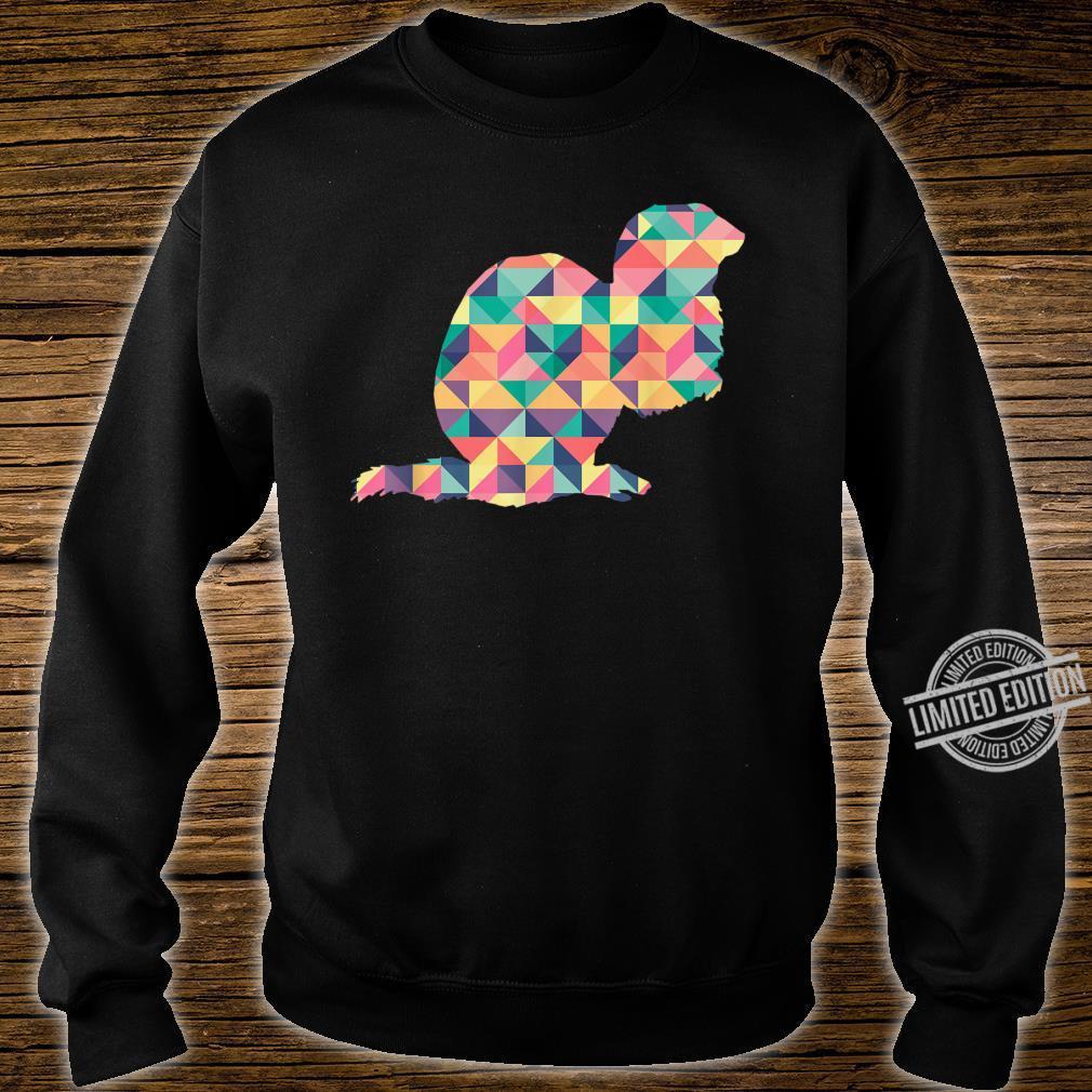 Mink Abstract Color Summer Weasel Otter Girl Shirt sweater