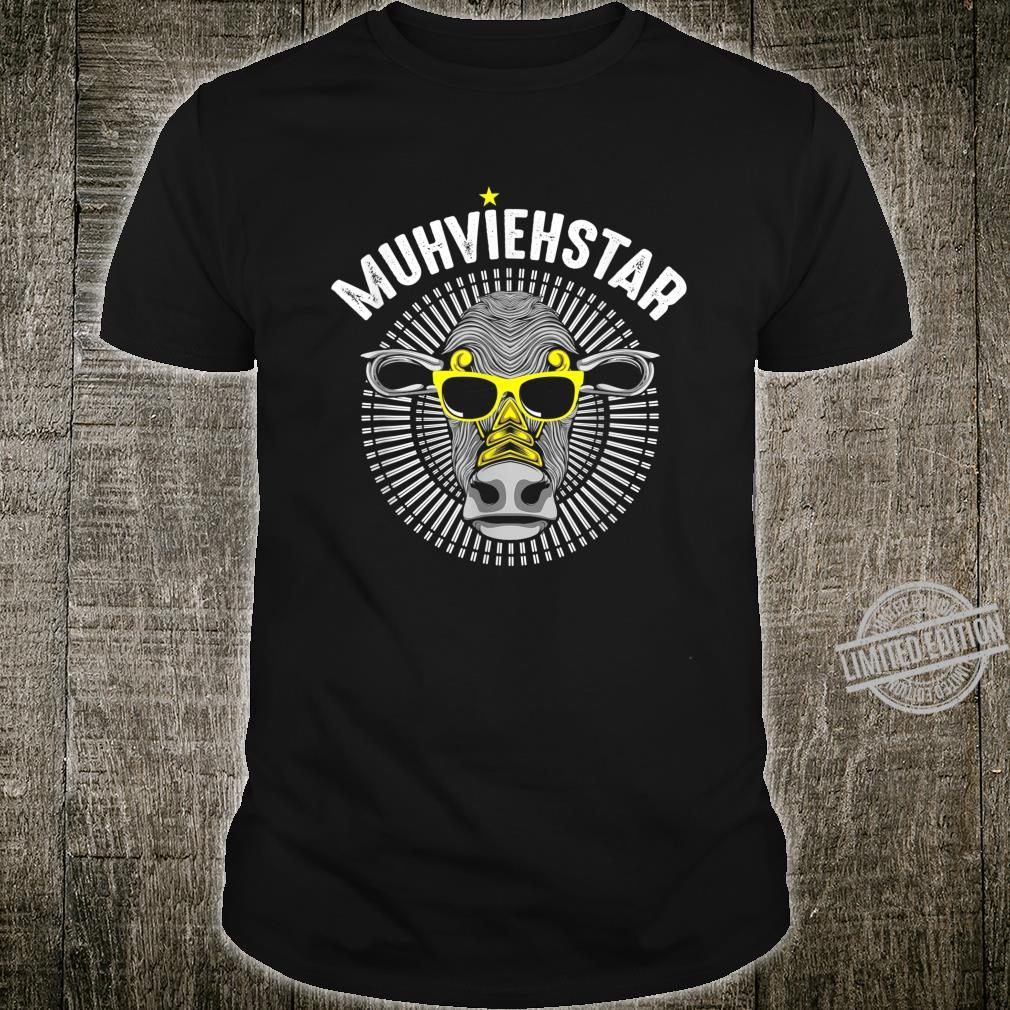 Muhviehstar Geschenkidee Geburtstagsgeschenk Rindvieh Shirt