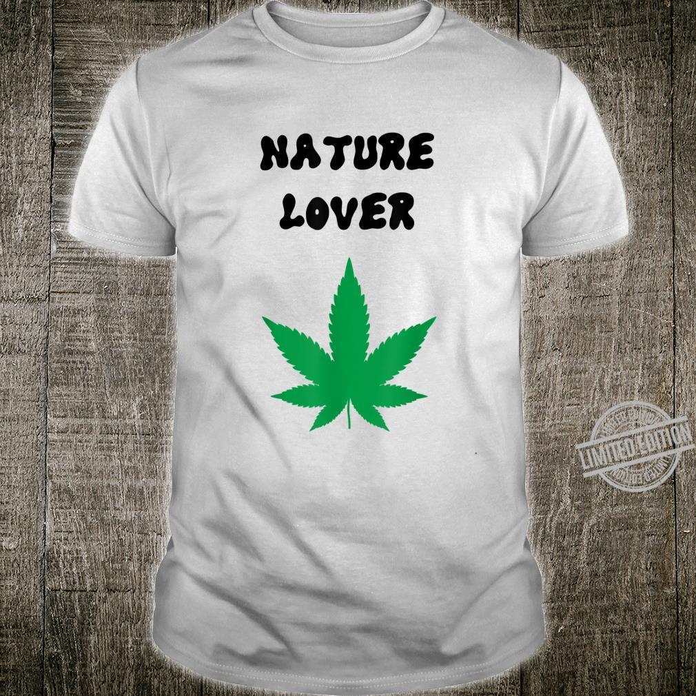 Naturliebhaber grün Shirt