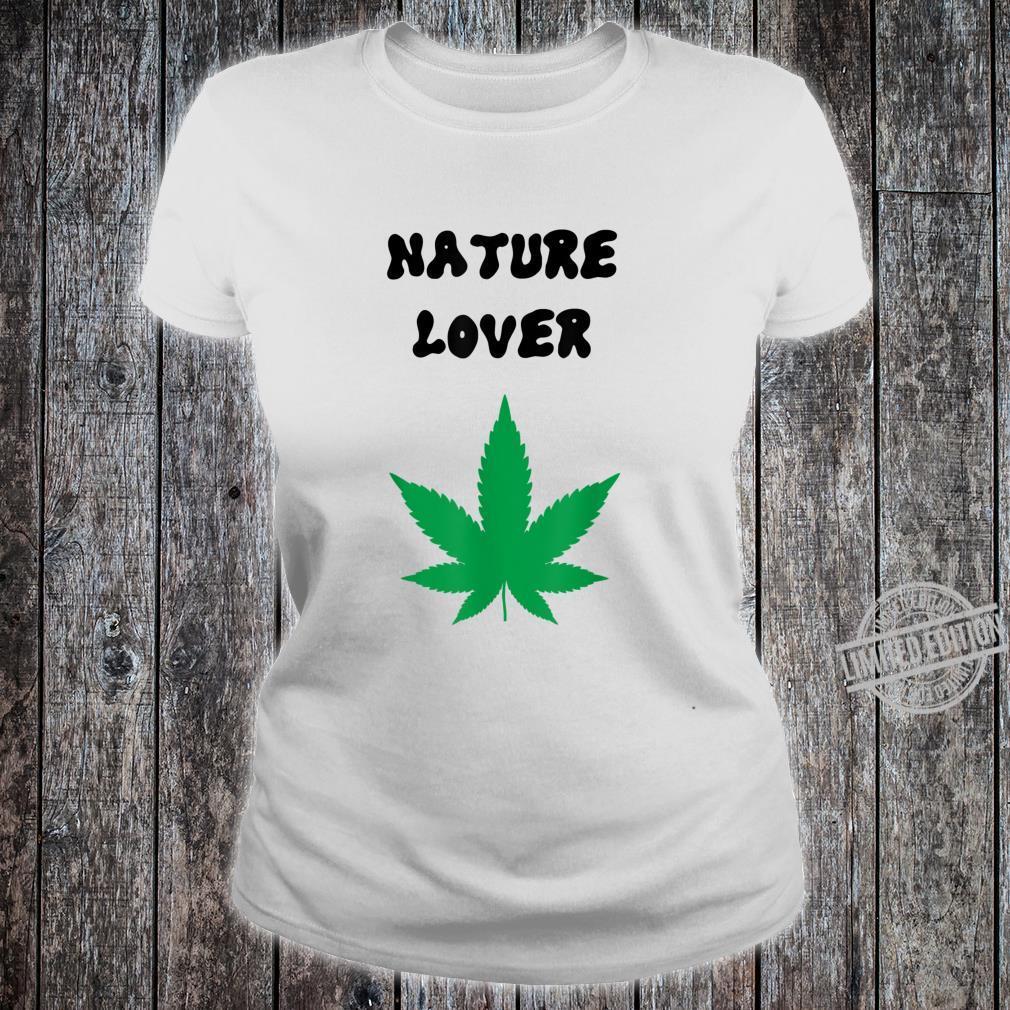 Naturliebhaber grün Shirt ladies tee