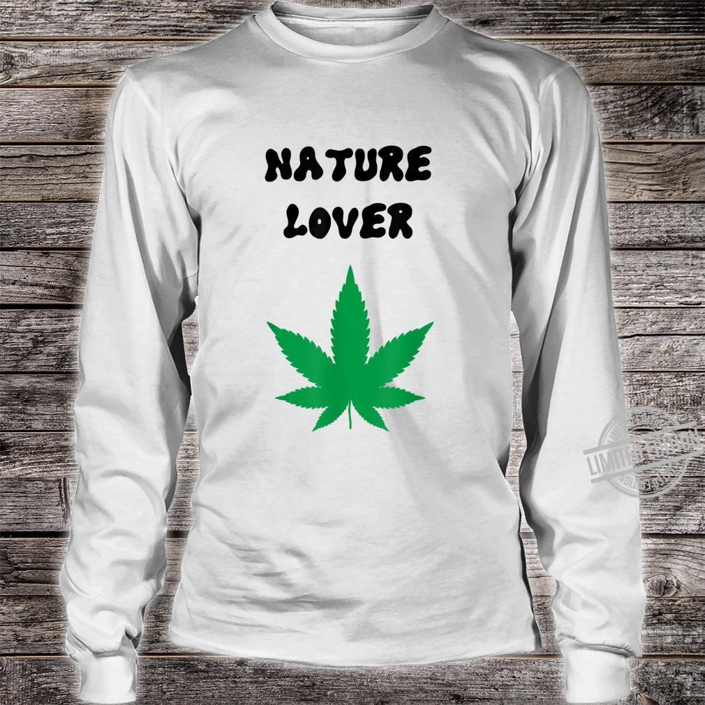 Naturliebhaber grün Shirt long sleeved