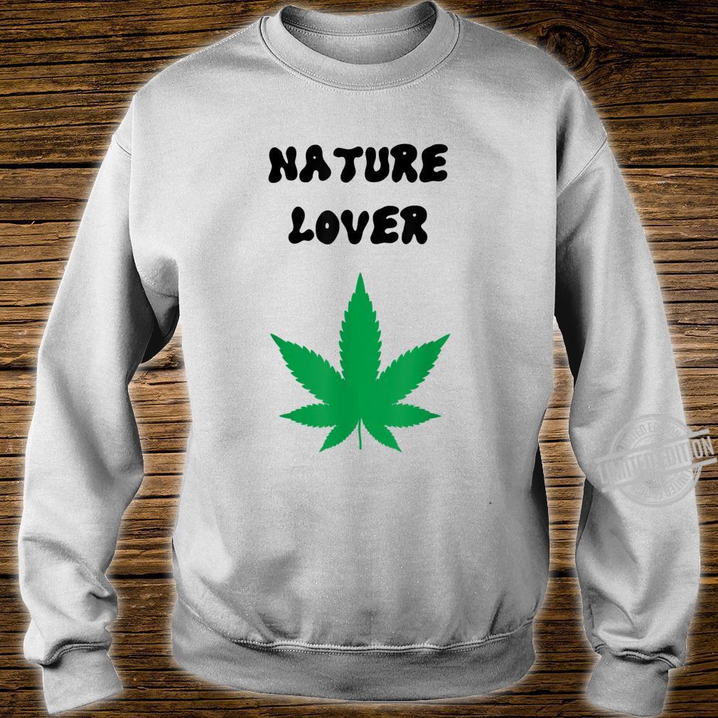 Naturliebhaber grün Shirt sweater