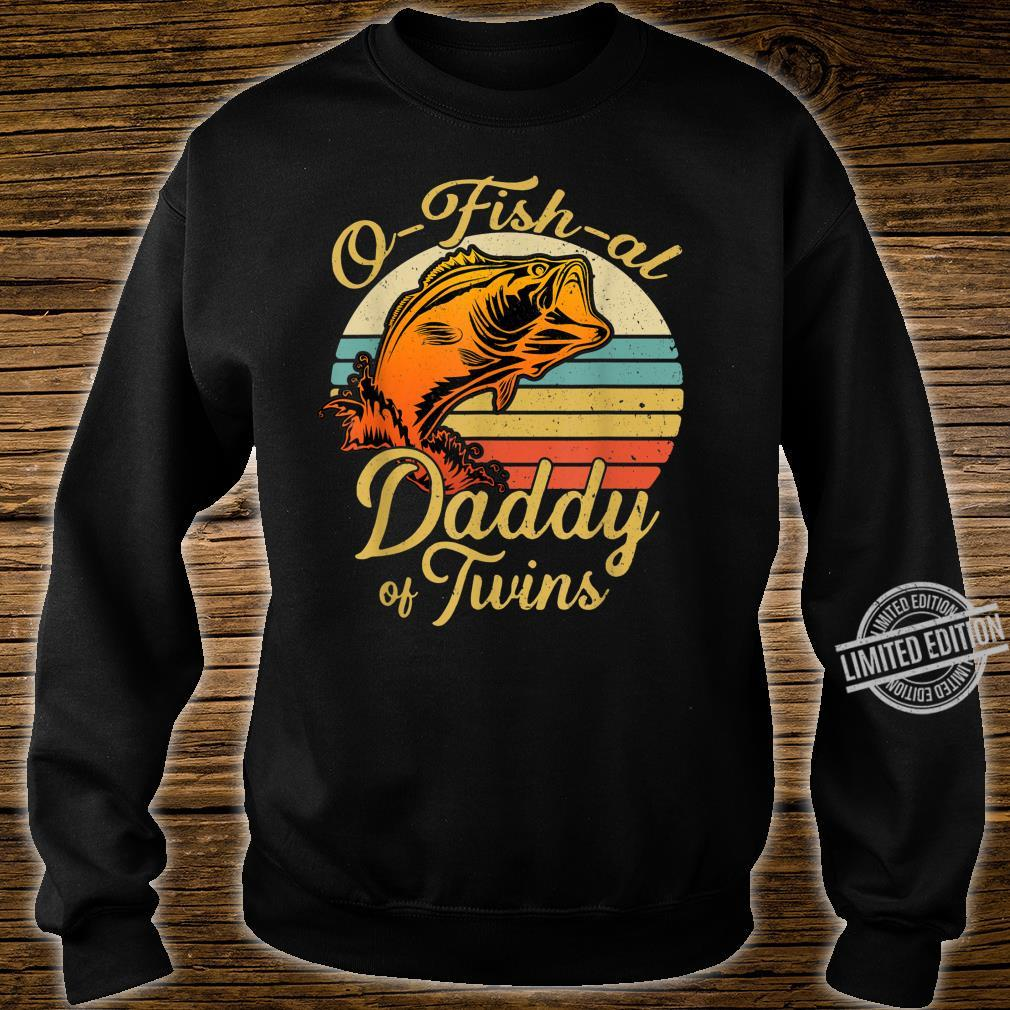 Ofishal Daddy of Twins Dad Baby Pregnancy Announcement Shirt sweater