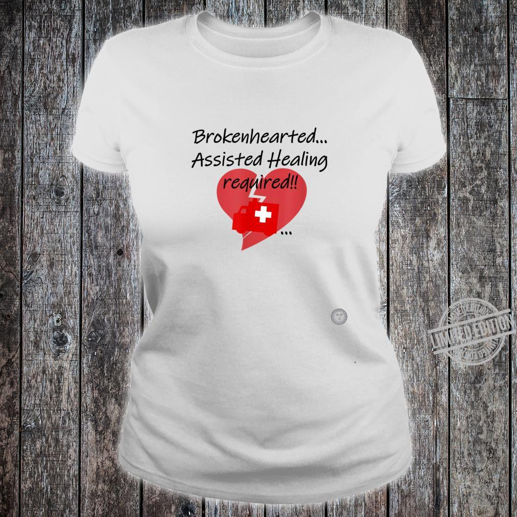 One Ole Manners and Love Happy Valentine's Day Heart Hurts Shirt ladies tee