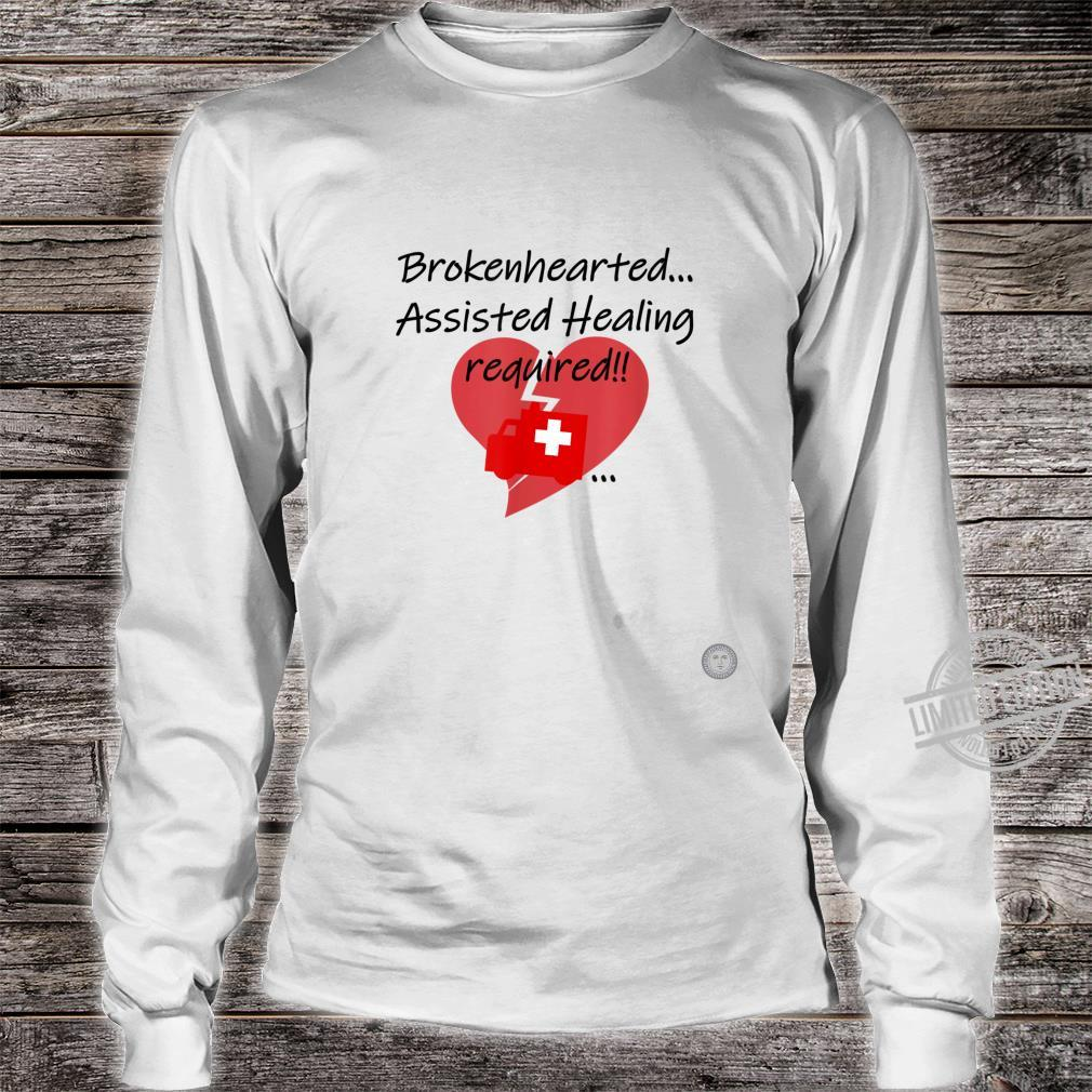 One Ole Manners and Love Happy Valentine's Day Heart Hurts Shirt long sleeved