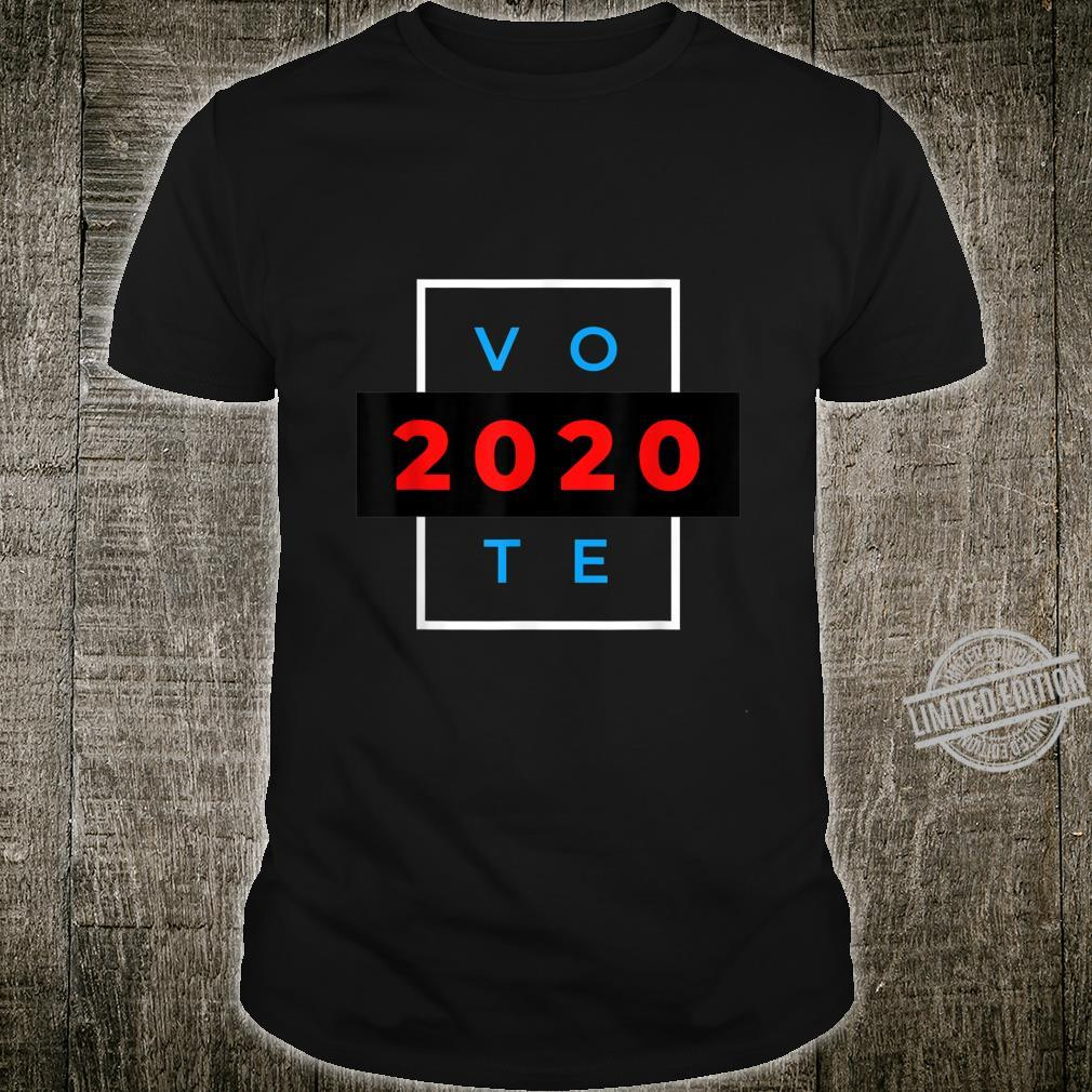 Perfect & Straight to the Point Vote 2020 Shirt
