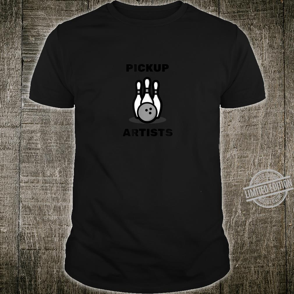 Pickup Artists Bowling League Shirt