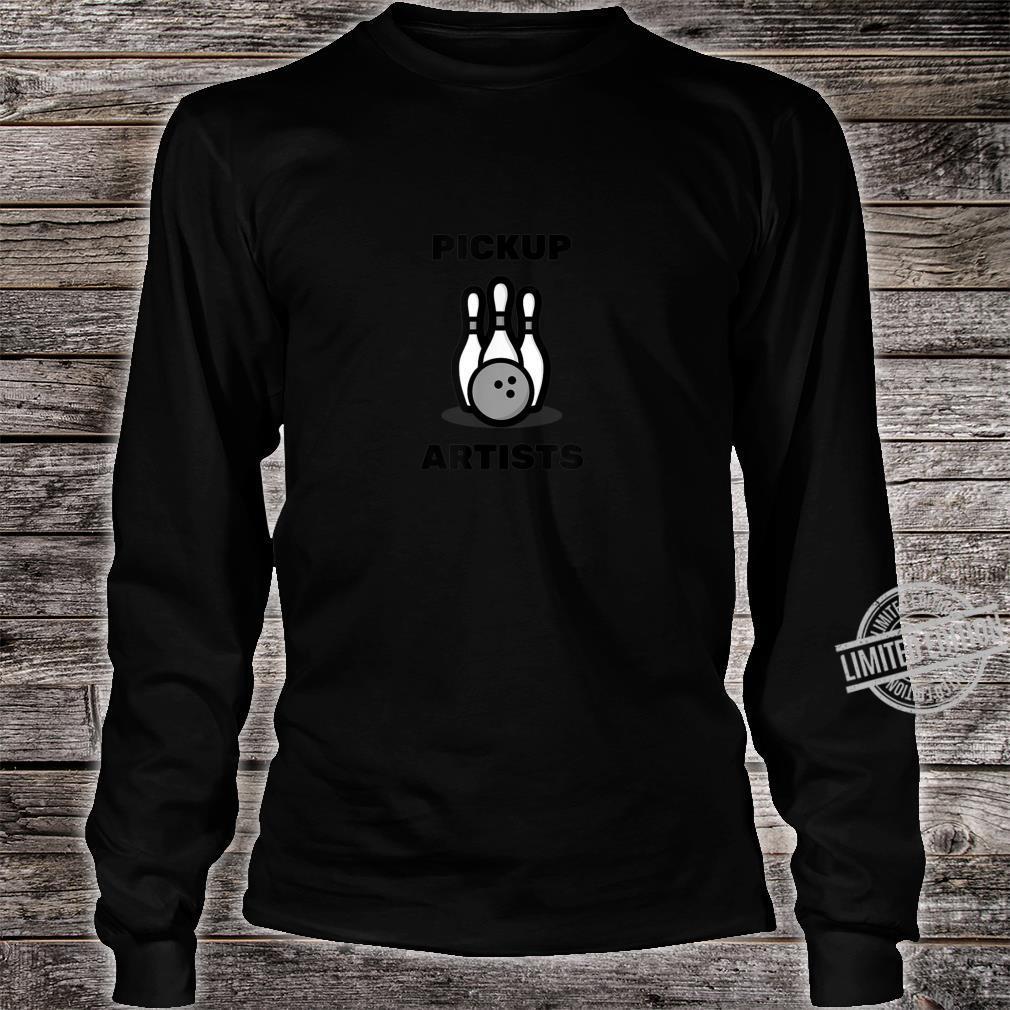 Pickup Artists Bowling League Shirt long sleeved