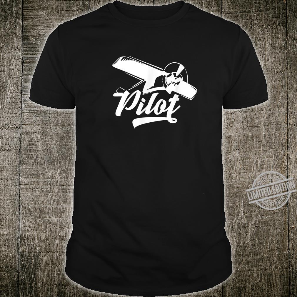 Pilot Flugzeugkapitän Flugzeugführer Piloten Flugschule Flug Shirt