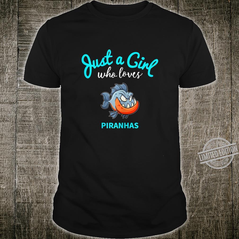 Piranha Shirt for Girls Piranha Shirt