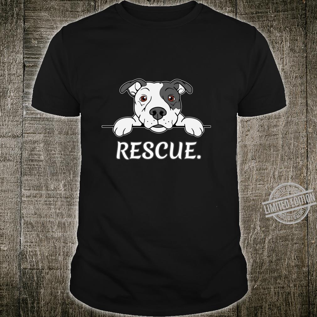 Pitbull Rescue Geschenk Pit Bull Liebhaber Pitbulls Langarmshirt Shirt
