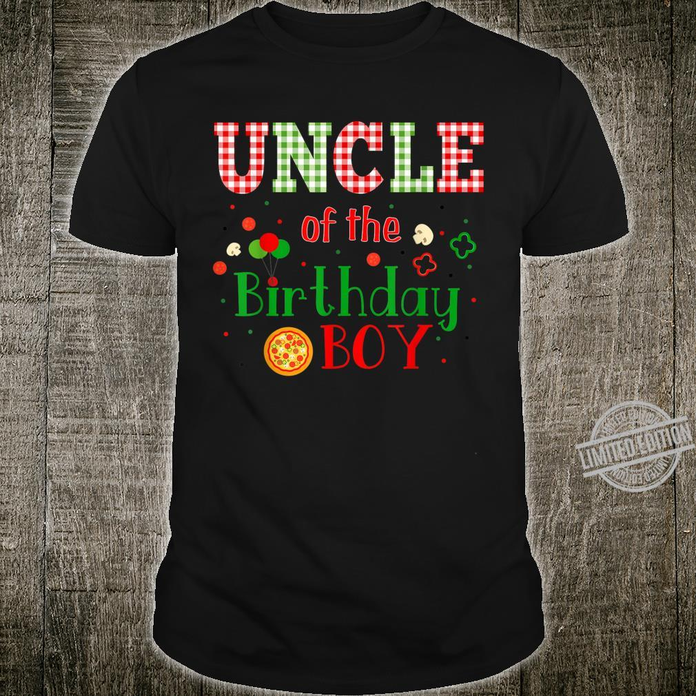 Pizza Birthday Party Themed Matching Family Group Shirt
