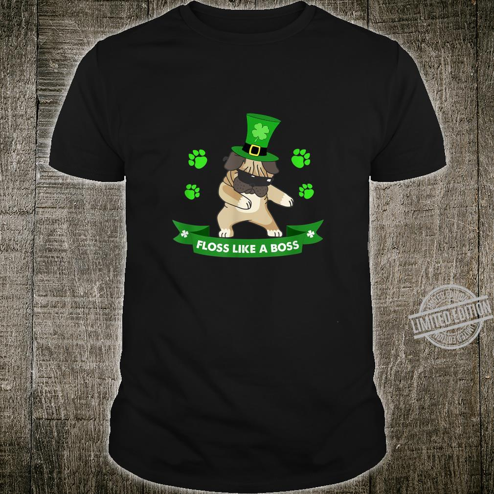 ST Patricks Day Floss Like a Boss Shirt