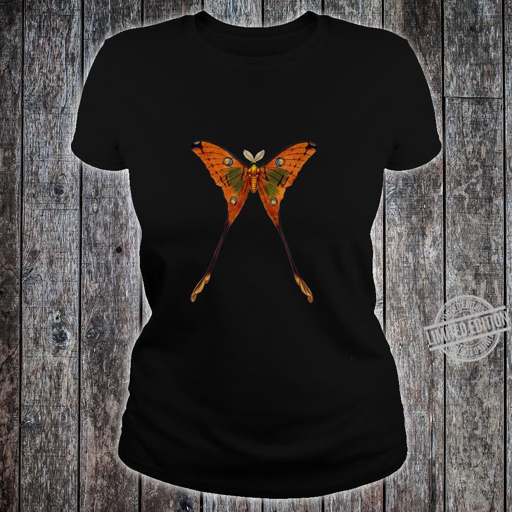 Schmetterling Illustration Insekten Entomologie Shirt ladies tee