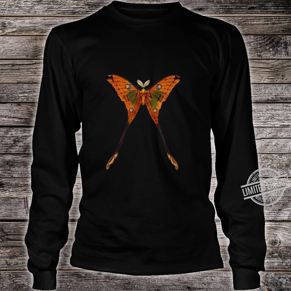 Schmetterling Illustration Insekten Entomologie Shirt long sleeved