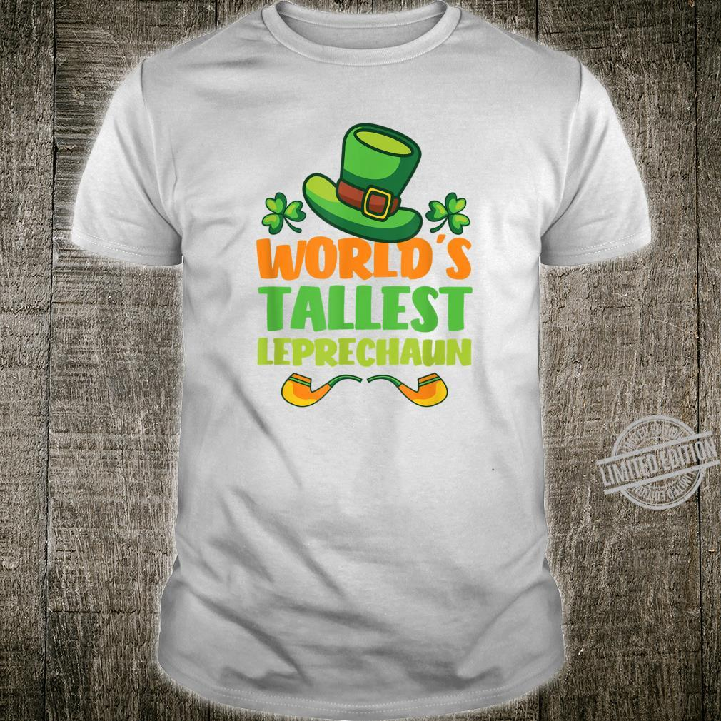 St Patricks Day Tallest Leprechaun Irish Shirt